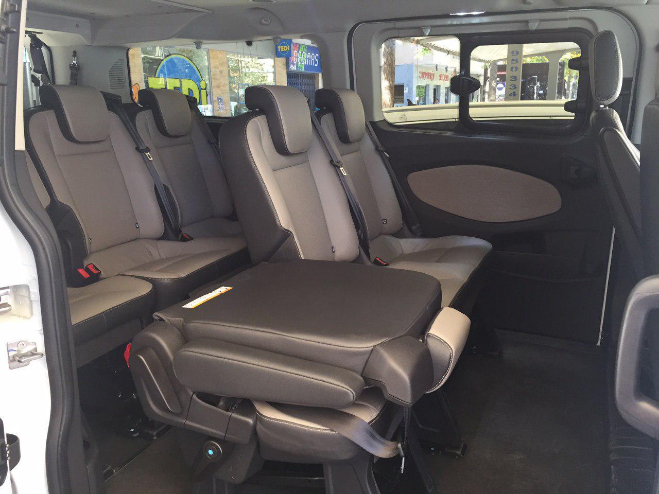 9 Seater Vehicles Taxiponiente Taxi Service Almeria
